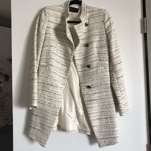 Zara Military Inspired Stripe Jacket sz XS